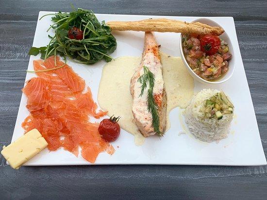 Le Sporting: Déclinaison de saumon frais dans tous ses états