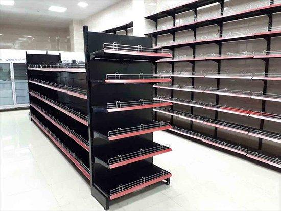 Shelve, UK: store shelving  قفسه بندی فروشگاهی