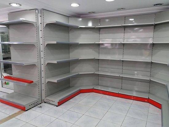 Shelve, UK: قفسه بندی فروشگاهی