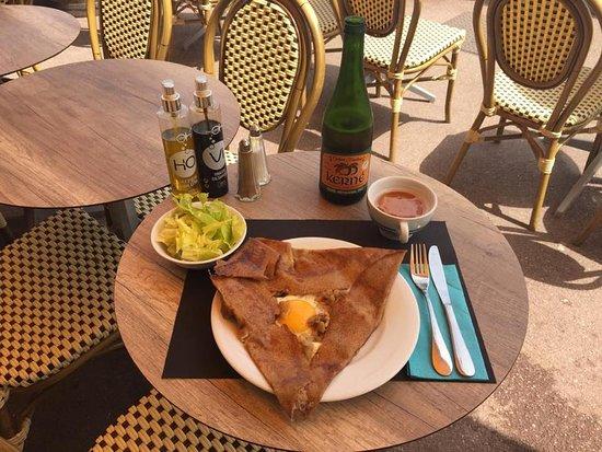 Cafe du Cap: Authentiques crêpes bretonnes