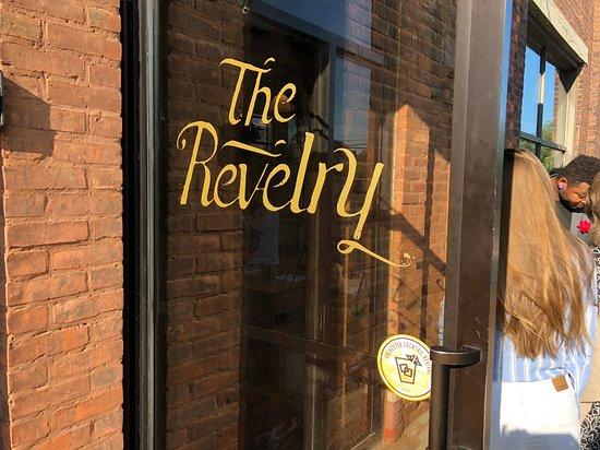 The Revelry - front door
