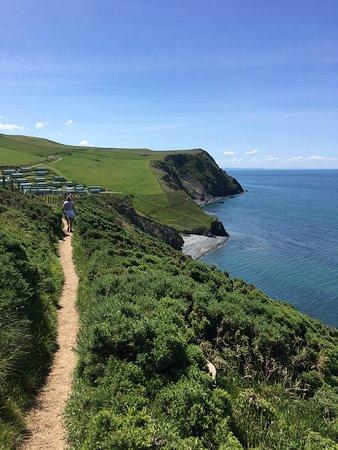 Hard but exhilarating walk with fantastic views