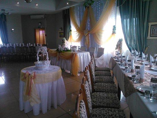 Lyepyel', Hviterussland: Оформление зала для свадеб