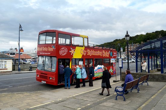 City Sightseeing Bute: Hop-on our open top tour to see the best of Bute.