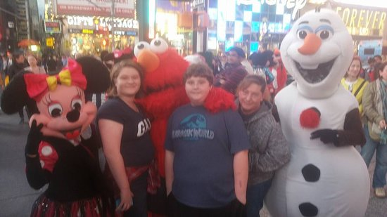 Таймс-сквер иТеатральный квартал: Times Square!