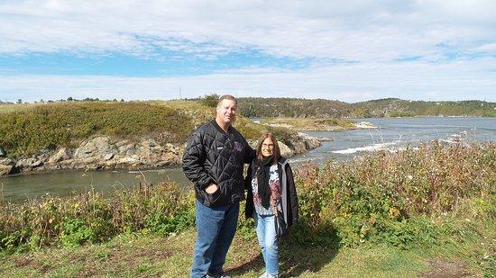 Norwegian Escape: Canada Reversing river