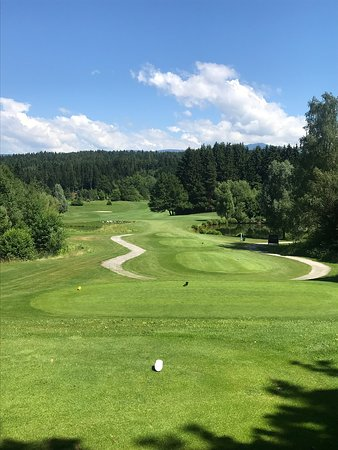 Kurzer Golfstopp auf der Durchreise