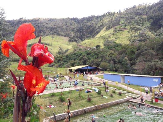 Coconuco, Colombia: Piscinas