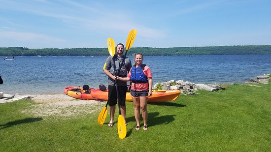 Come with us and kayak around Peninsula State Park!