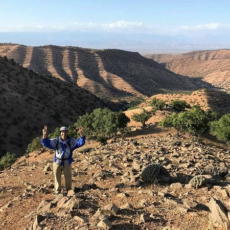 Souss-Massa-Draa Region, โมร็อกโก: Hiking in the Anti Atlas mountains