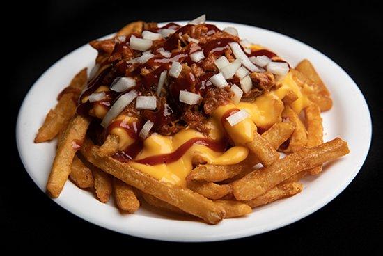 Hotshots Pulled Pork Fries
