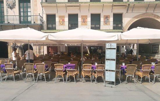 imagen bar quei plaza en Tudela