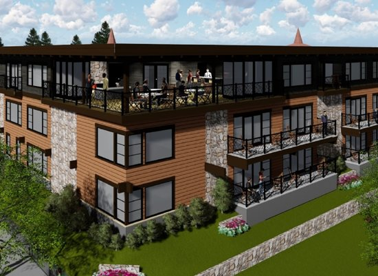 Charlevoix's newest hotel with balconies