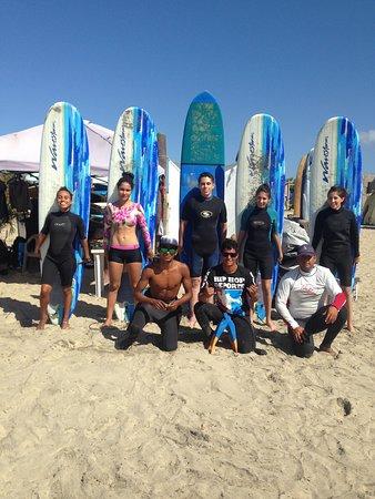 Playa Cerritos, Meksyk: Clases grupales
