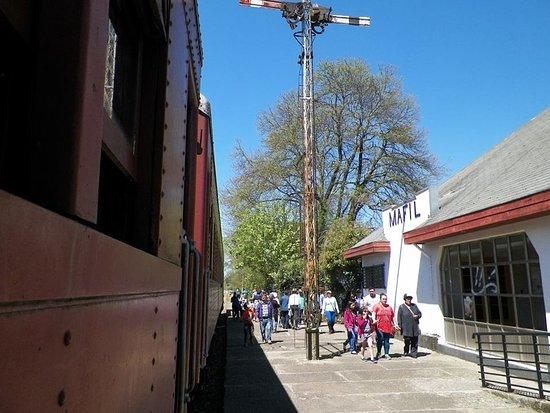 Mafil, Chile: Estación de ferrocarrriles de Máfil