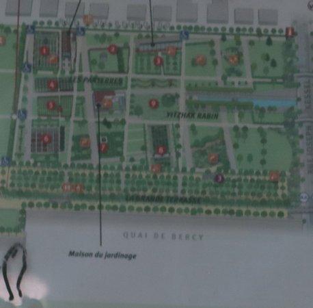 Localisation du site sur le plan