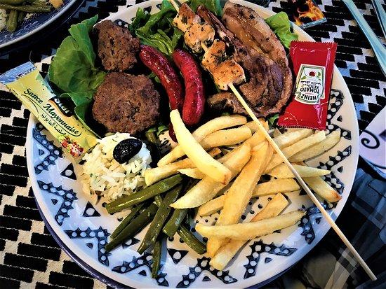 Chez Hakim: Mixed Grill