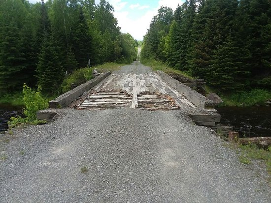 Ashland, ME: One of the bridges that is in bad shape