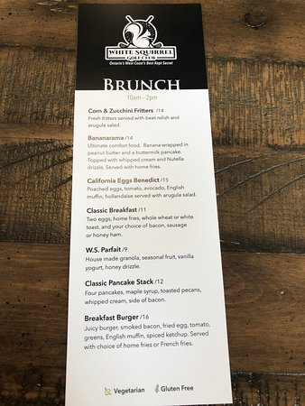 Brunch Menu available every Saturday and Sunday 10 AM-2 PM