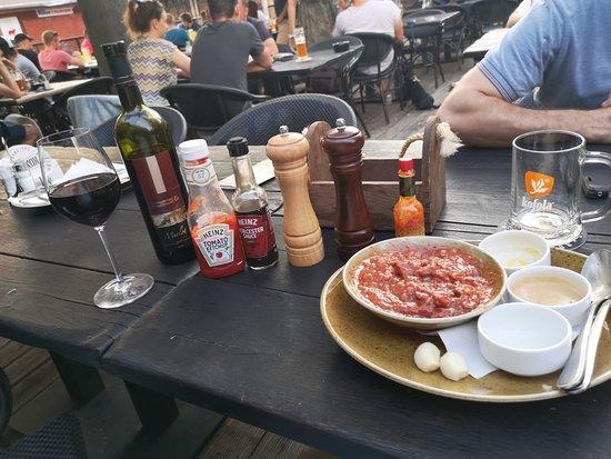 Ružinovský pivovar Komín: Food