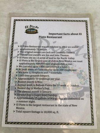 History of El Pinto