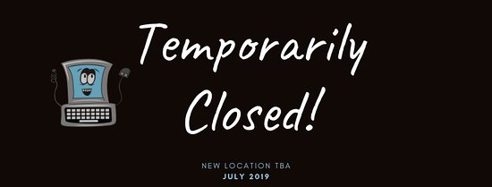 Temple Terrace, FL: Temporarily closed while moving to new location. More details to come!