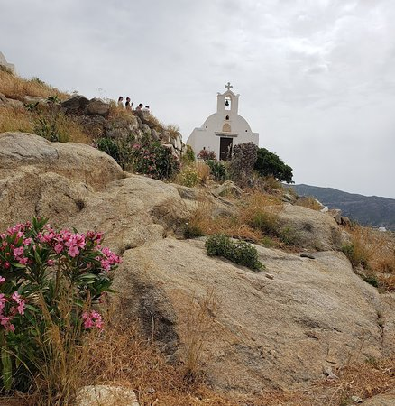 Pretty church on Ios island