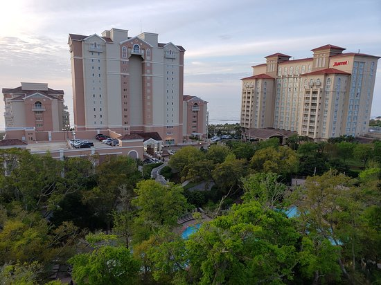 Resort view from 5101