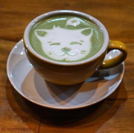 Wedang Andalan : Green Tea Latte