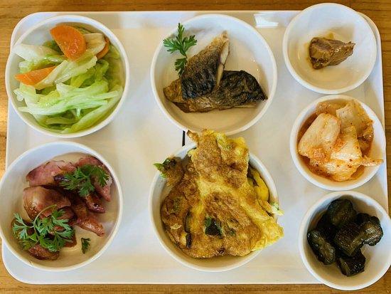 Hualien BV Hotel: 中式早餐