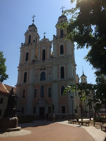 Church of Sts. Philip and James: The Front Of The Church