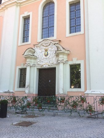 Church of Sts. Philip and James: The Entrance