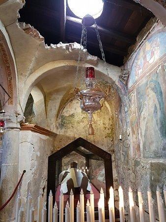 Leggiuno, Italia: grotta del Beato Alberto