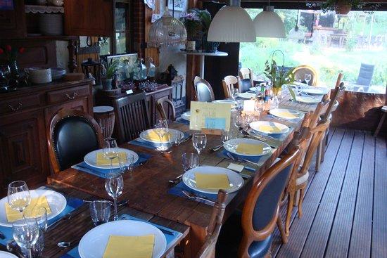 Le Breuil, ฝรั่งเศส: Table d'hôte