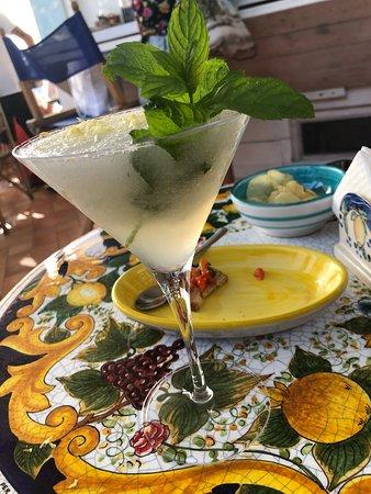 Café Mirante: Slushee with vodka