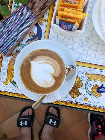 Café Mirante: Cappuccino