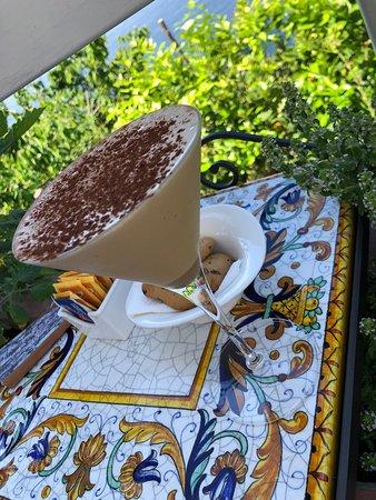 Café Mirante: Iced coffee