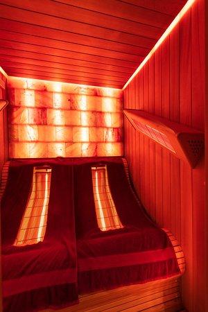 Au Clos du Lac: Piscine intérieure/Sauna