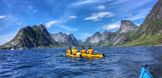 Experience the beautiful Reinefjorden.