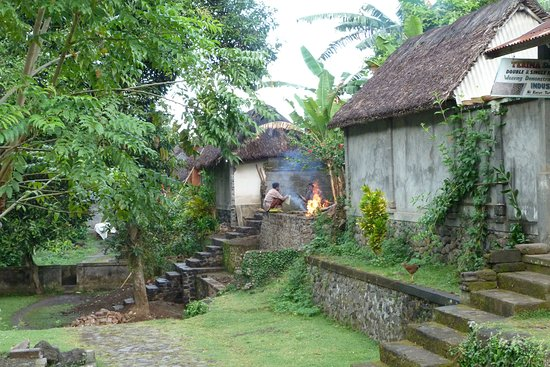 This Is A Village Of The Original Balinese People Tenganan