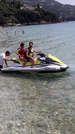 Barbati, Yunani: Emilios Boat Jet Ski Rental.
