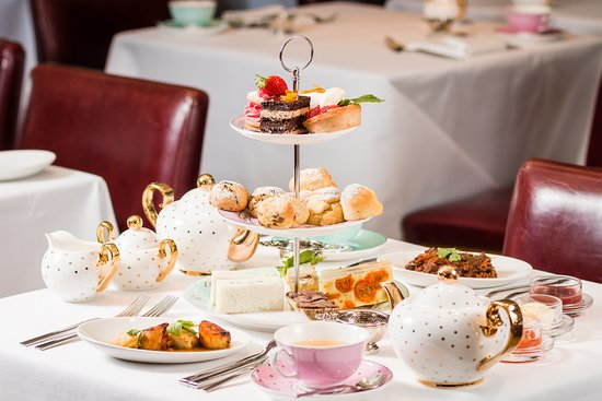 Afternoon Tea at Scoff & Banter Tea Rooms, Oxford Street
