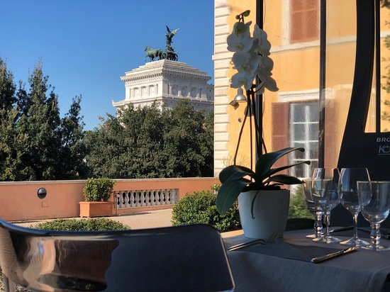 Review Of Terrazza Caffarelli Rome Italy