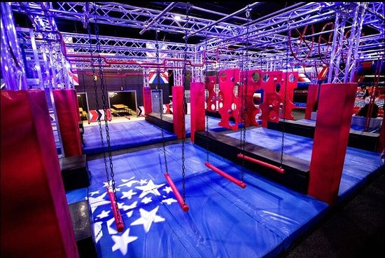 Ninja Warrior UK Adventure Park Wigan