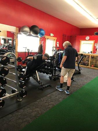 Silver Cliff, โคโลราโด: Free weight training