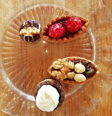 La Vaca Atada: Heerlijke minigebakjes.