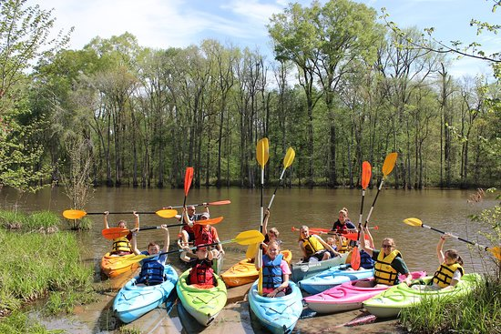 Four Oaks, NC: Howell Woods Kayaking