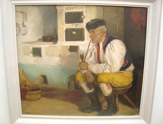 Old Man from Chodsko, 1932