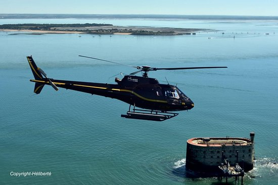 Héliberté Hélicoptères La Rochelle