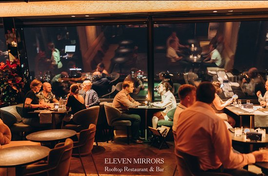 Atmosphere at 11 Mirrors Rooftop Restaurant & Bar
